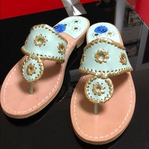 Jack Rogers sandals, size 6.5; new